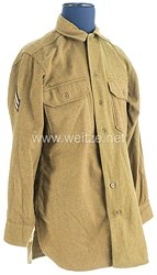 USA World War 2: US Army Winter Service Shirt for a Corporal of the 1st Infantry Division