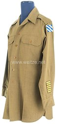 USA World War 2: US Army Winter Service Shirt for an Officer of the3rd Infantry Division