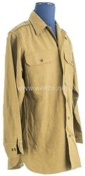 USA World War 2: US Army Winter Service Shirt for a Soldier of the 10th Mountain Division