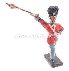 Lineol - England Coldstream Guards Tambourmajor marschierend