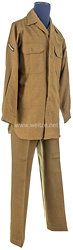 USA World War 2: US Army Winter Service Shirt and Trousers for aPrivate First Class