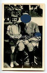 "III. Reich - Propaganda-Postkarte - "" Adolf Hitler - Rast im Harz """