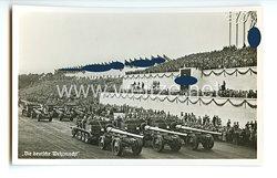 """III. Reich - Propaganda-Postkarte - """" Adolf Hitler - Reichsparteitag - Die deutsche Wehrmacht """""""