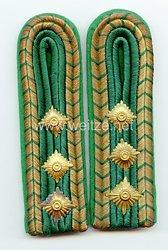 III. Reich Strafjustiz Paar Schulterstücke für einen Justizbeamten(Hauptwachmeister)