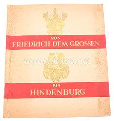 Von Friedrich dem Grossen bis Hindenburg - Zigaretten Sammelbilderalbum