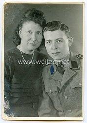 Waffen-SS Portraitfoto eines Soldaten