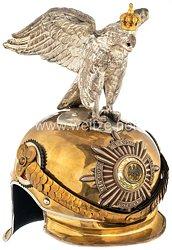 Preußen Helm für Offiziere im Regiment Garde du Corps