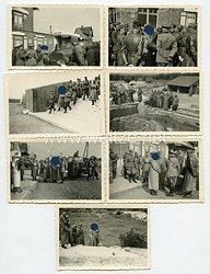III. Reich Fotos, Adolf Hitler und GeneralfeldmarschallWilhelm Keitel besuchen einen Kriegsschauplatz aus dem 1. Weltkrieg