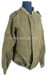 Deutsche Demokratische Republik ( DDR ) Nationale Volksarmee ( NVA ) Strichtarnjacke für einen Feldwebel der Fallschirmspringer