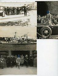 III. Reich Fotos, Adolf Hitler zu Besuch in Hamburg 17.8.1934