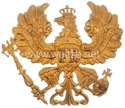 Preußen Helmadler für eine Pickelhaube für Offiziere Linie Infanterie,- Artillerie, Train etc.