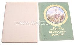 III. Reich - Auf deutscher Scholle - Zigaretten Sammelbilderalbum