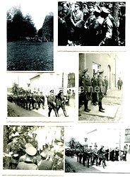 III. Reich Fotogruppe, Angehörige des Deutschen Roten Kreuz ( DRK ) bei einer Übung