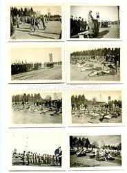 III. Reich Fotogruppe, Einweihung eines Soldatenfriedhof im Reichsgebiet
