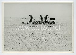 Wehrmacht Pressefoto: Angehörige des Deutschen Afrikakorps