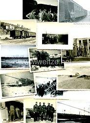Reichsarbeitsdienst ( RAD ) Fotogruppe, Angehörige einer RAD-Batterie der Flakartillerie