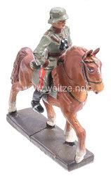 Lineol - Heer General mit Fernglas reitend auf Schrittpferd