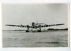 Königreich Italien Pressefoto: Wasserflugzeug Cant Z-511