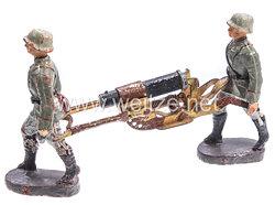Elastolin - Heer 2 Soldaten ein SMG tragend
