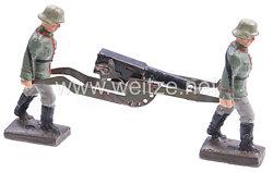 Lineol - Heer 2 Soldaten ein SMG tragend