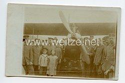 Deutsches Kaiserreich Foto, Deutsches Kampfflugzeug