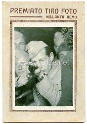 Luftwaffe Foto, Soldat mit Frontflugspange in Italien