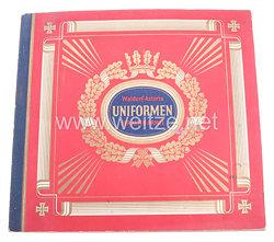 III. Reich - Uniformen der Alten Armee - Zigaretten Sammelbilderalbum