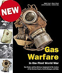 Fachliteratur -Rossi et al.:Gas Warfare in the First World War -Anti-Gas Protection and Gas Masks in the Armies of the German Empire, Austria-Hungary and Italy.