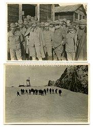 Königreich Italien Fotoskonvolut, diverse Aufnahmen von italienischen Soldaten im 1. Weltkrieg