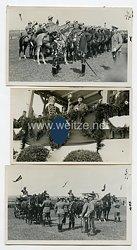 III. Reich Fotos,August von Mackensen zu Besuch in Hamburg 1935