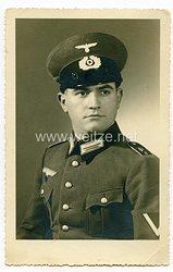 Wehrmacht Portraitfoto, Gefreiter der Panzerabwehrabteilung 8.