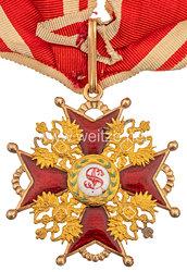 Zaristisches Rußland   St. Stanislaus-Orden, Kreuz 2. Klasse.