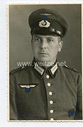 Wehrmacht Heer Portraitfoto, Soldat mit Waffenrock und SA-Wehrsportabzeichen