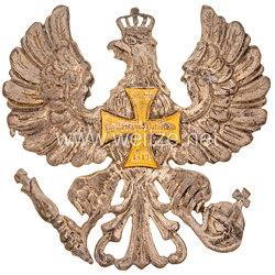 Preußen Adler für die Tschapka eine Offiziers in einem Landwehr-Ulanen-Regiment