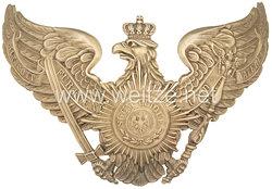 Preußen Helmadler für die Pickelhaube Mannschaften im 1. Garde-Regiment zu Fuß, Garde-Füsilier-Regiment oder 5. Garde-Regiment zu Fuß