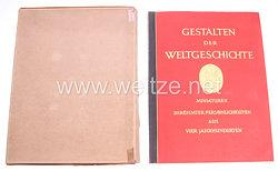 III. Reich - Gestalten der Weltgeschichte -Zigaretten Sammelbilderalbum