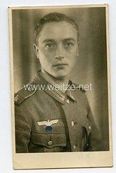 Wehrmacht Heer Portraitfoto, Angehöriger des Landesschützen-Bataillon