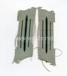 Wehrmacht Heer 2 Einheitskragenspiegel für Mannschaften