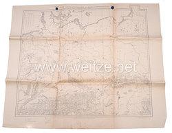 Luftwaffe Navigationskartein Merkatorprojektion 1:2000 000