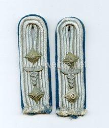 Luftwaffe Paar Schulterstücke für einen Hauptmann Truppensonderdienst TSD (= Verwaltung)