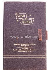 USA World War 2: War Bonds Storage Booklet