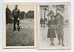 """Waffen-SS Fotos, SS-Sturmmann im SS-Panzergrenadier-Regiment """"Germania"""" und später in Kriegsgefangenschaft"""