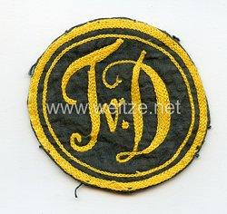 III. Reich Sporthemdemblem für einen Sportverein