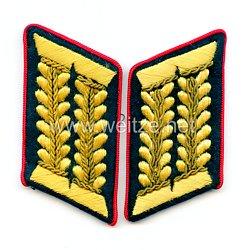 Wehrmacht Heer Paar Kragenspiegel für einen WH-Beamten im gehobenen Dienst bei der Wehrkreisverwaltung