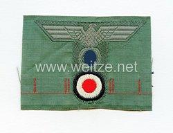 Wehrmacht Heer Mützenemblem für die Feldmütze M 43 für Mannschaften Gebirgsjäger