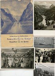 Allgemeine-SS Fotogruppe, Angehöriger der SS auf einer Kreuzfahrt nach Norwegen