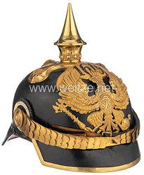 Preußen Pickelhaube für einen Offizier im Grenadier-Regiment Kronprinz (1. Ostpreußisches) Nr. 1