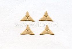 Luftwaffe Schablonen für die Sterne der Kragenspiegel der Wehrmachtsbeamten