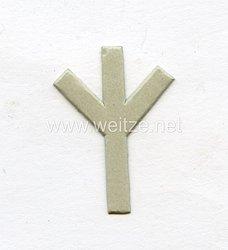 III. Reich, Schablone für das Ärmelabzeichen Feldscher