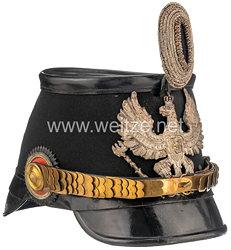 Preußen Tschako für einen Offizier der Telegraphen-bzw. Luftschiffer Bataillone